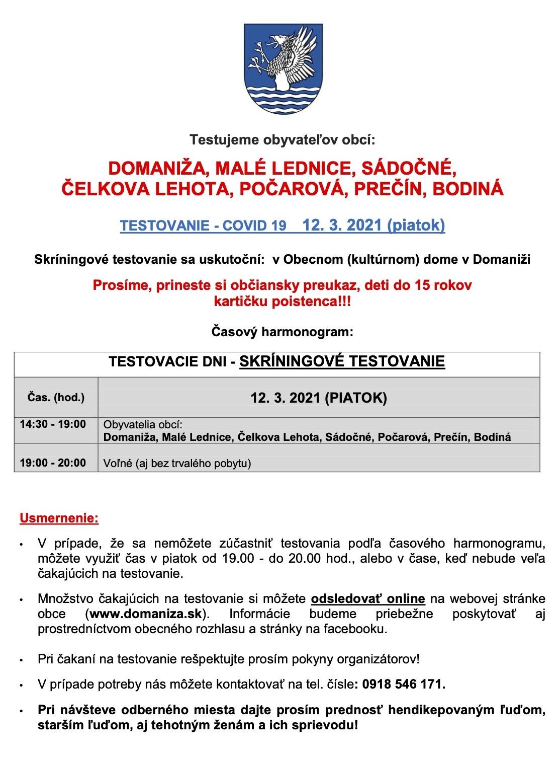 Domaniža-skriningove-testovanie-2021-10