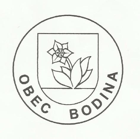 Pečať obce Bodiná