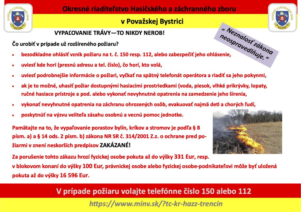 Plagat _vypalovanie