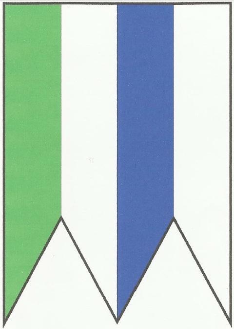 Vlajka obce Bodiná